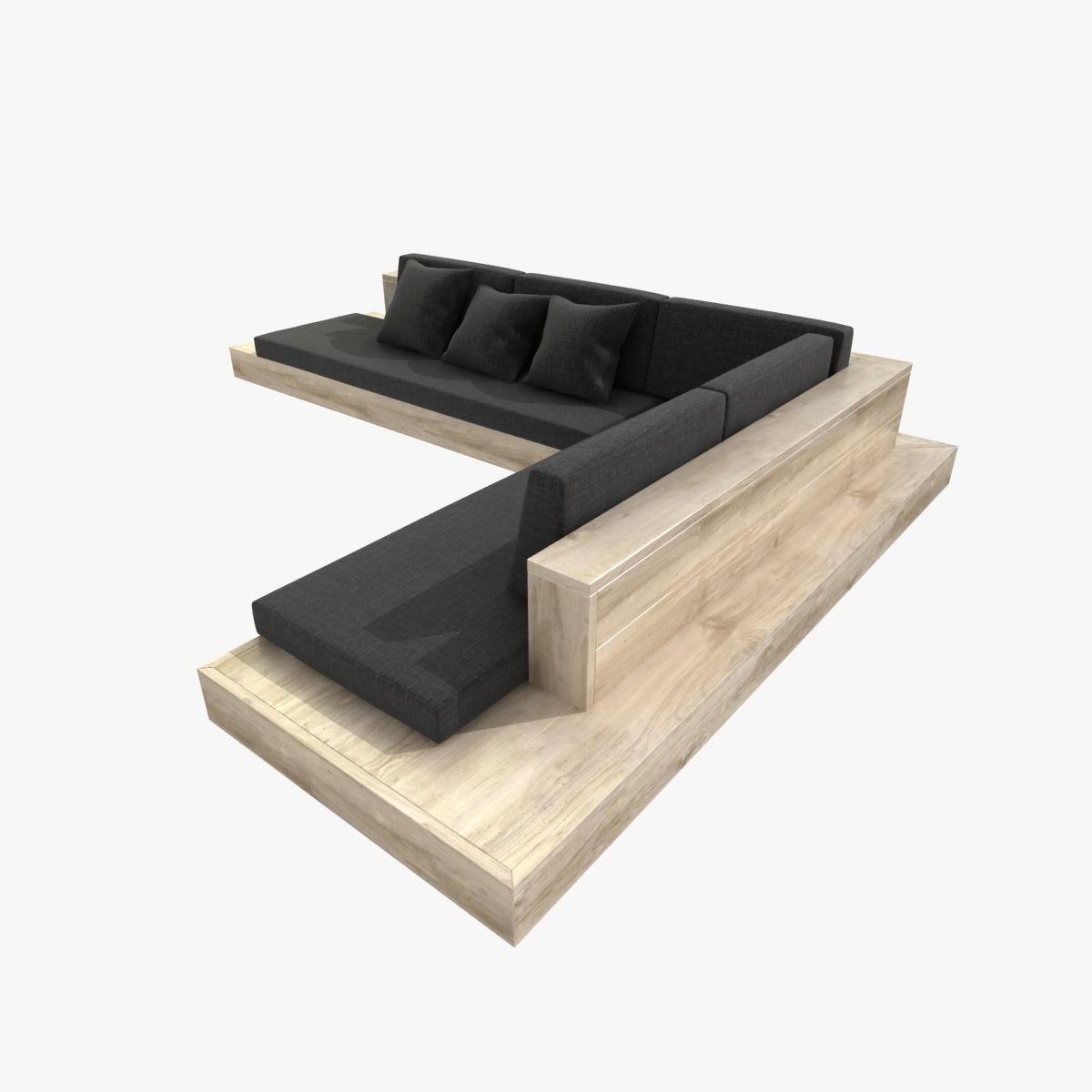Outdoor corner sectional sofa