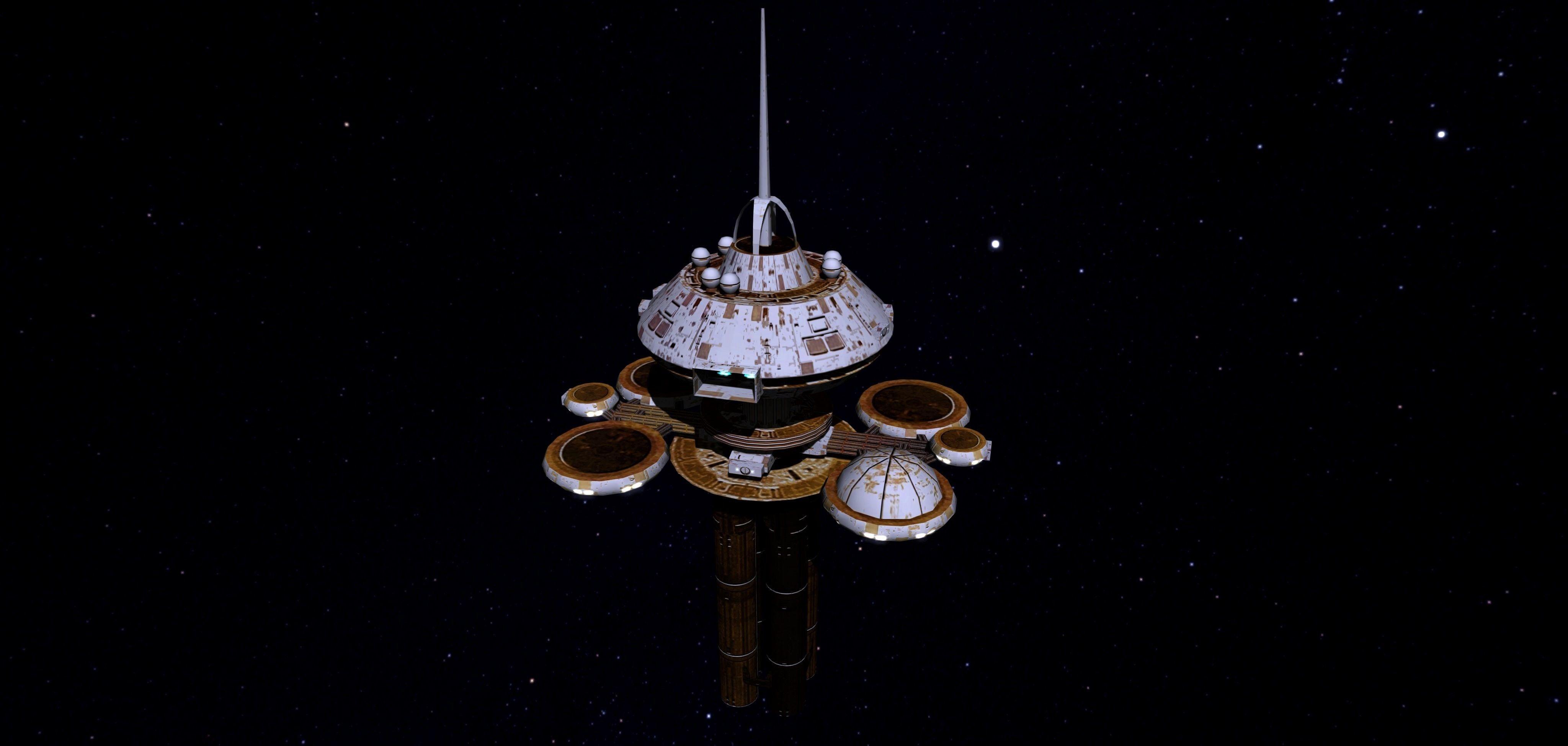 STAR TREK - REGULA SPACE STATION