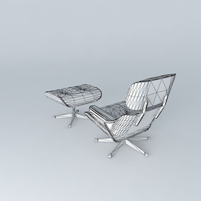 Eames Lounge Chair Dwg Free Charles eames lounge chair 1956