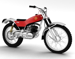 Montesa Cota 247 1970 3D model