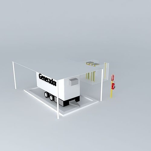 3d Model Comesa Power Generator Cgtrader