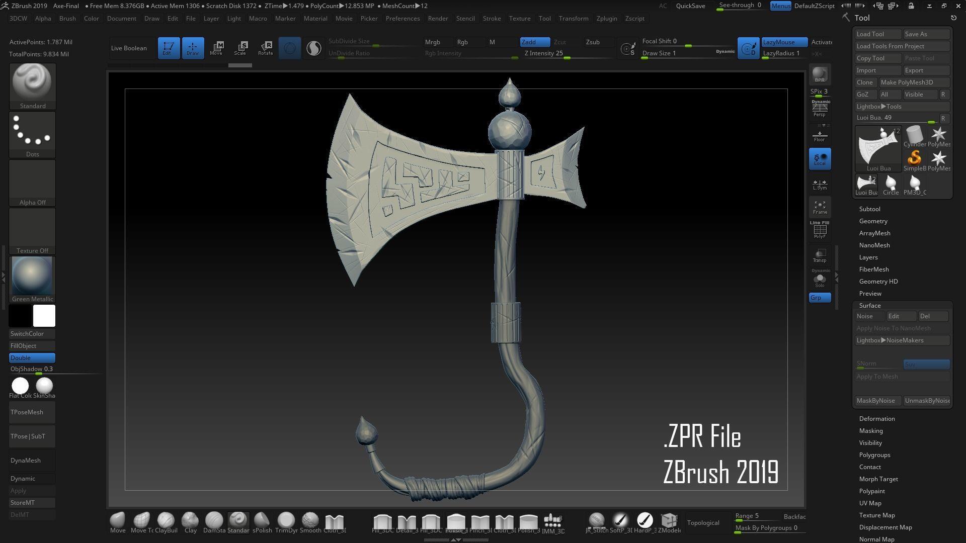 Blender Sculpting Download