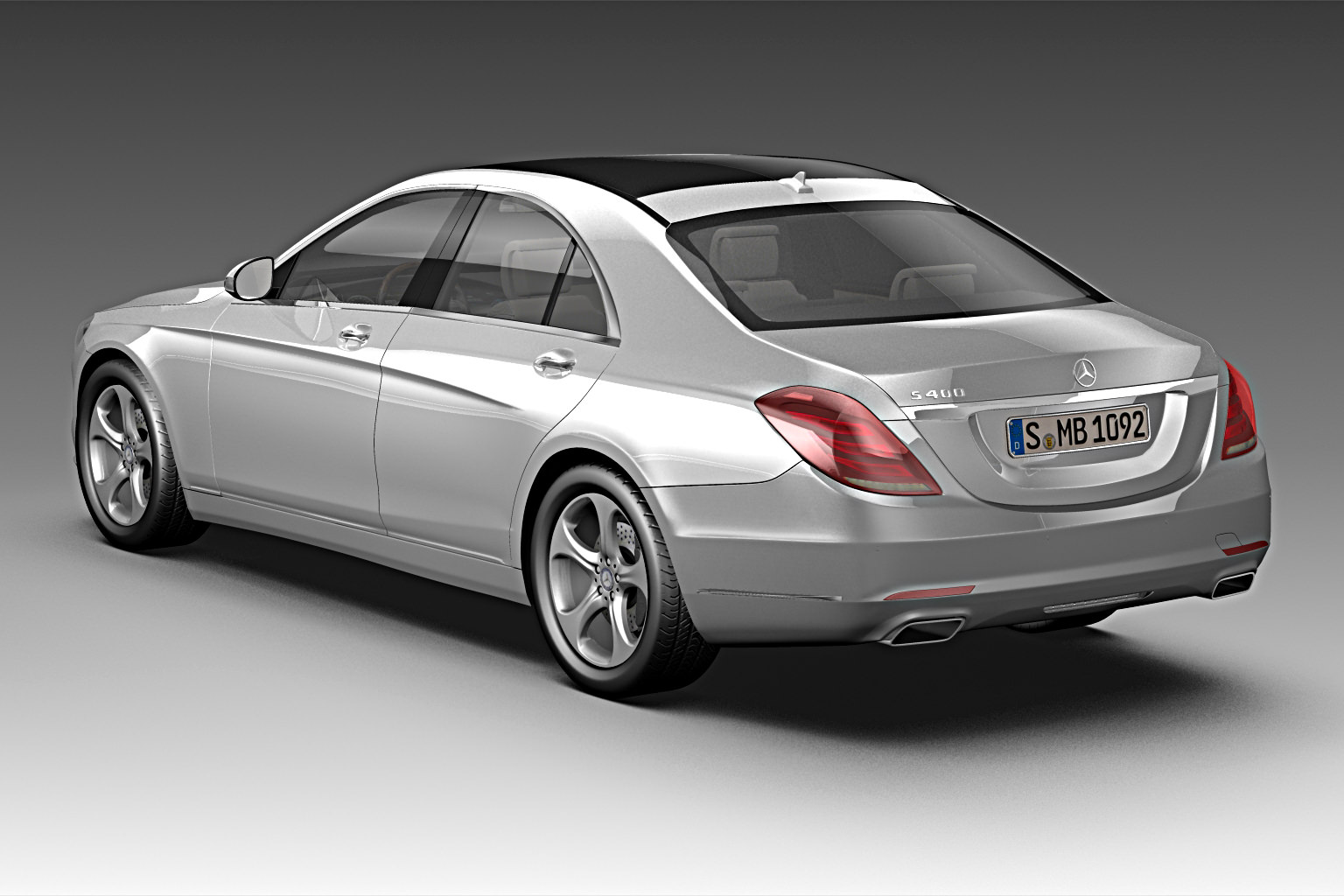 2014 mercedes benz s class 3d model max 3ds fbx c4d lwo lw