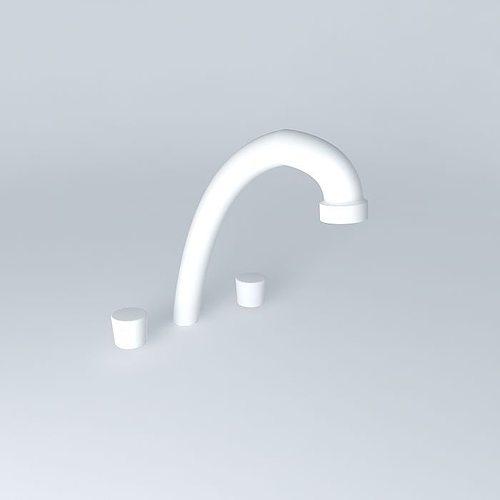 kitchen faucet 3d model max obj mtl 3ds fbx stl skp 1