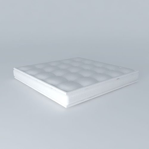 Futon Cushion Model Max Obj S Fbx Stl Skp 1