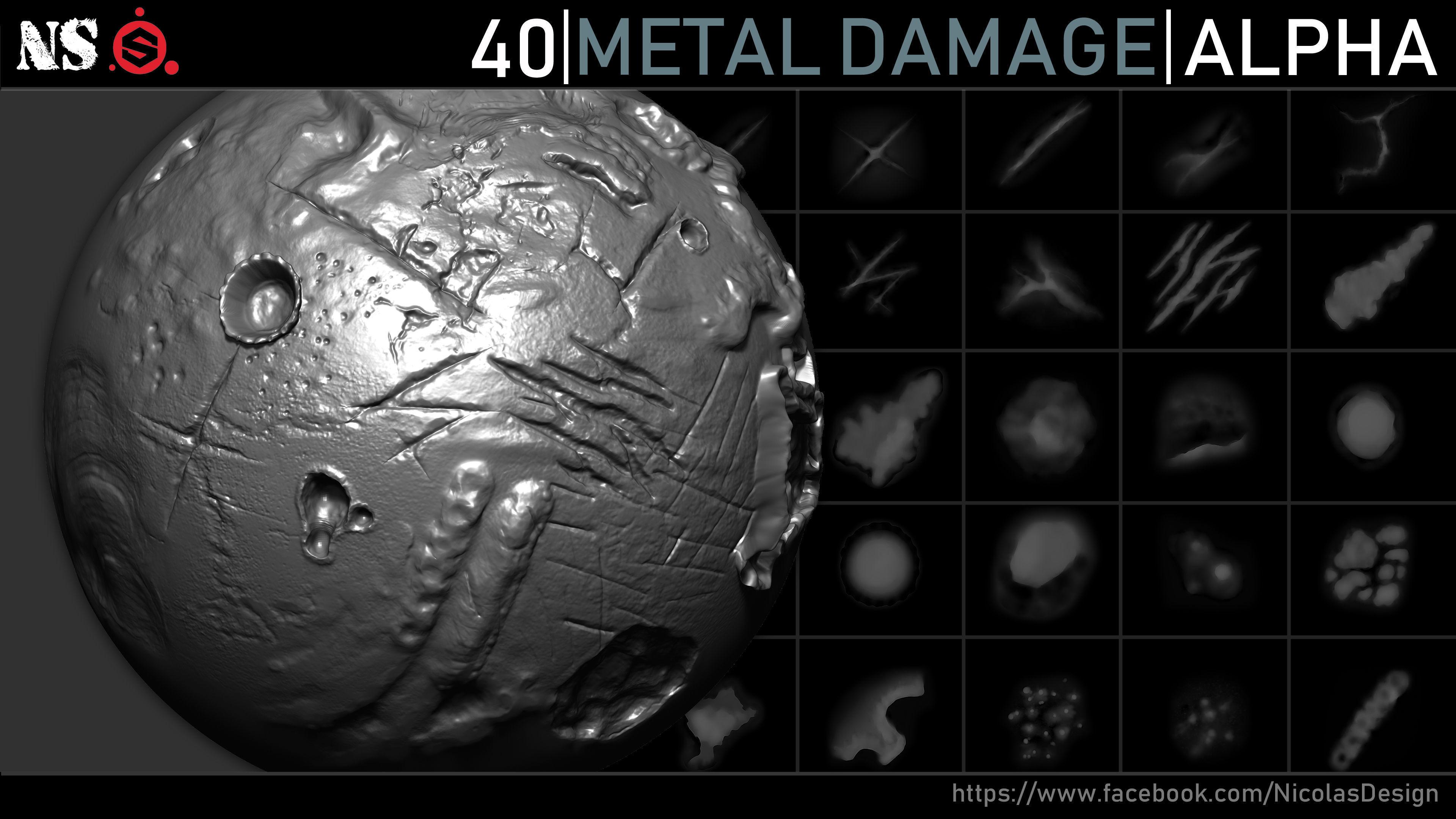 Metal Damage Alphas