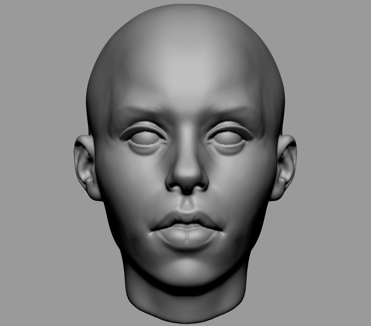 Base Female Head v3