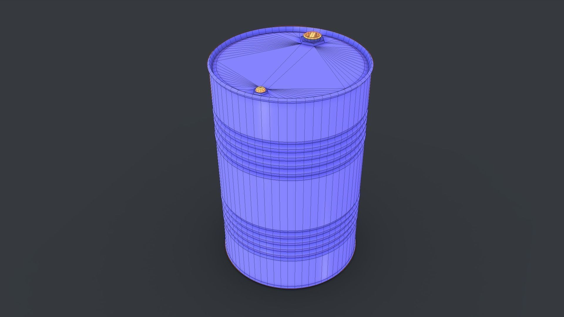 Barrel with - golden ratio