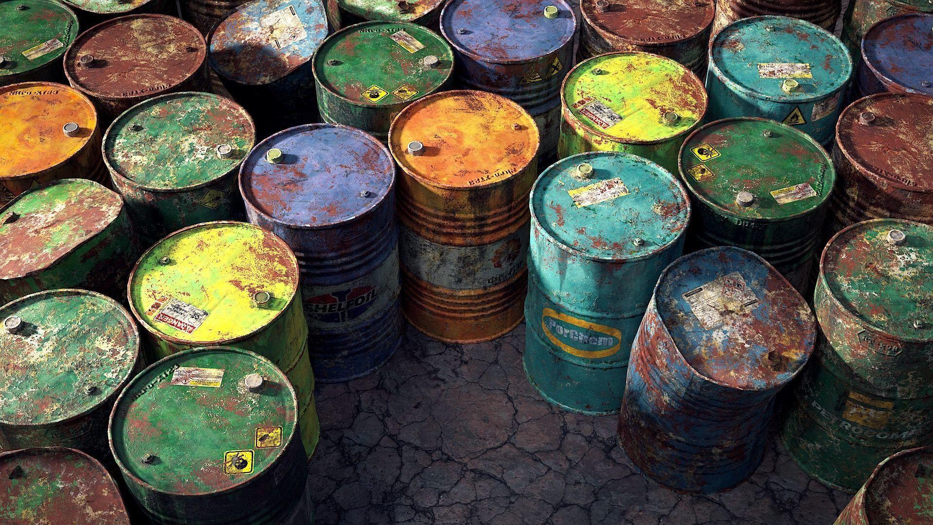 9 Industrial Barrels
