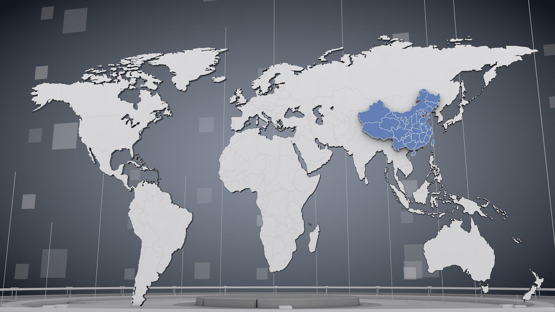World Map 3d Model.3d Cinema 4d World Map Cgtrader