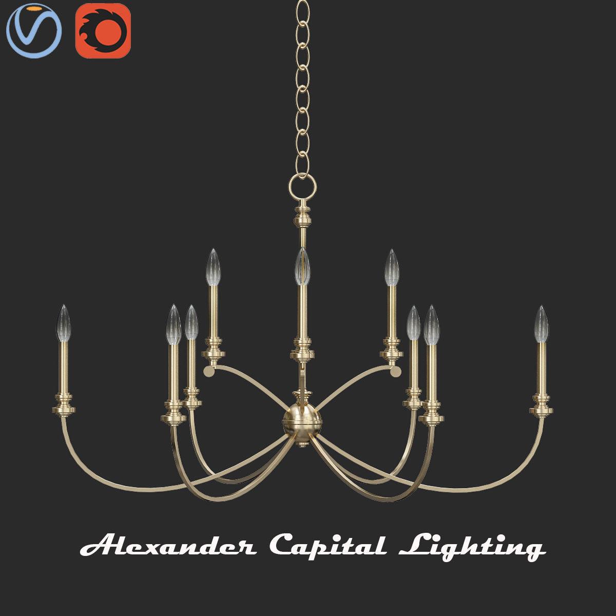 Alexander Capital Lighting Fixture Company Model