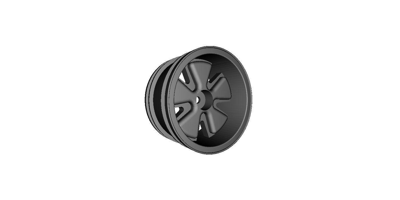 Military Car Lot >> RC Car Drift Wheel Fuchs width 29mm offset minus 4mm 3D Model 3D printable STL | CGTrader.com