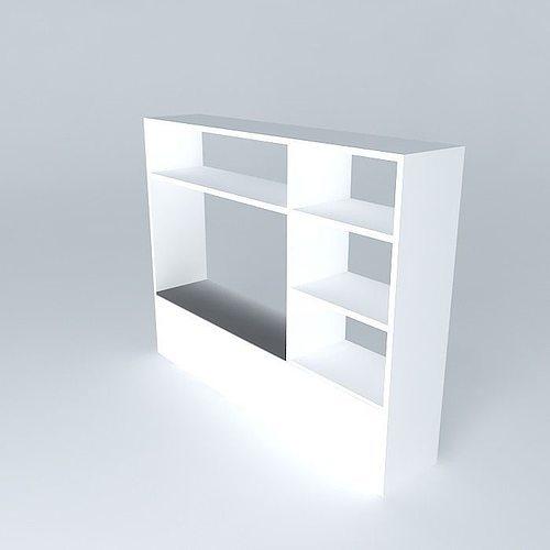 storage shelves habitat shelving 3d model max obj mtl 3ds fbx stl skp 1