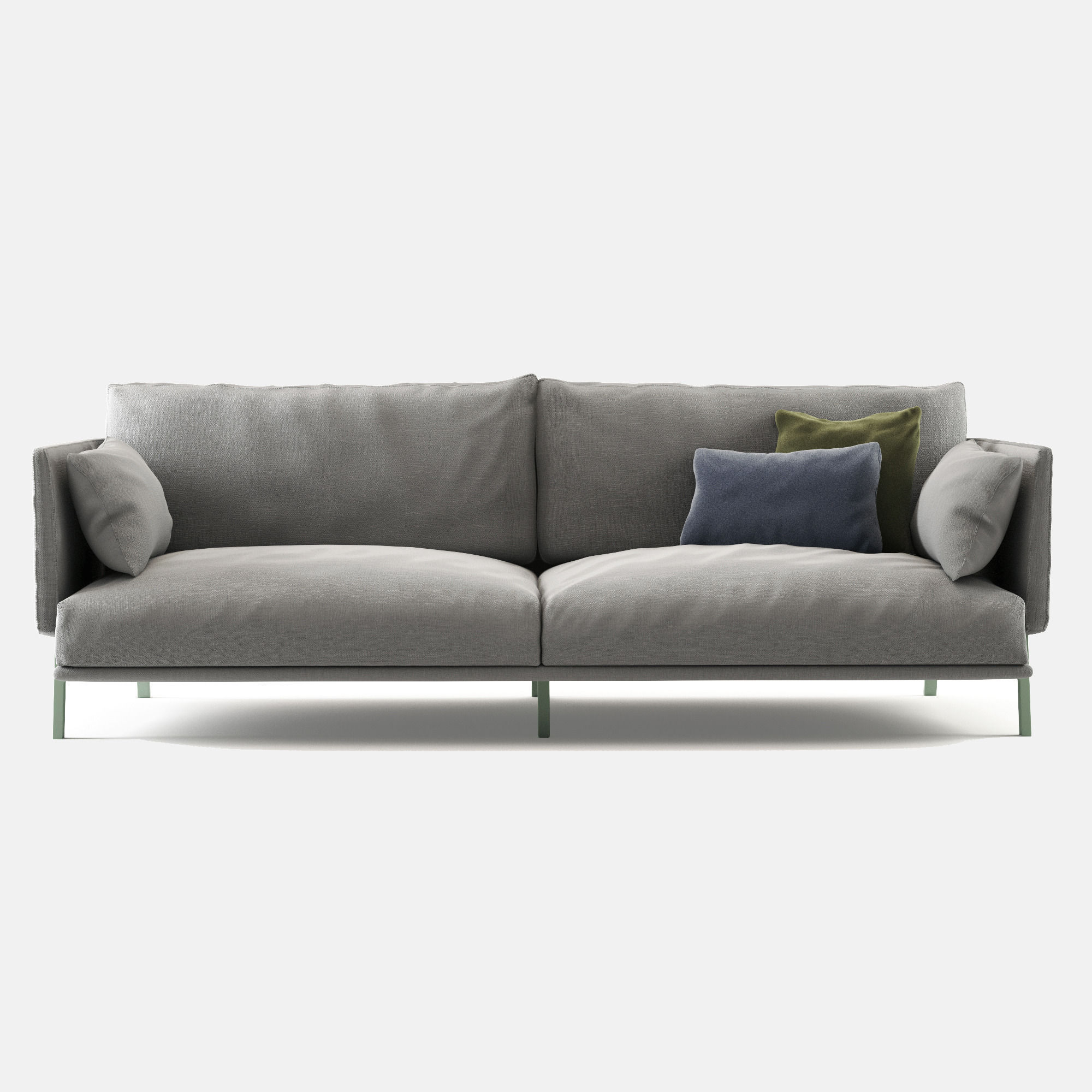 Structure sofa bonaldo 3d model max obj fbx for Sofa 3d model