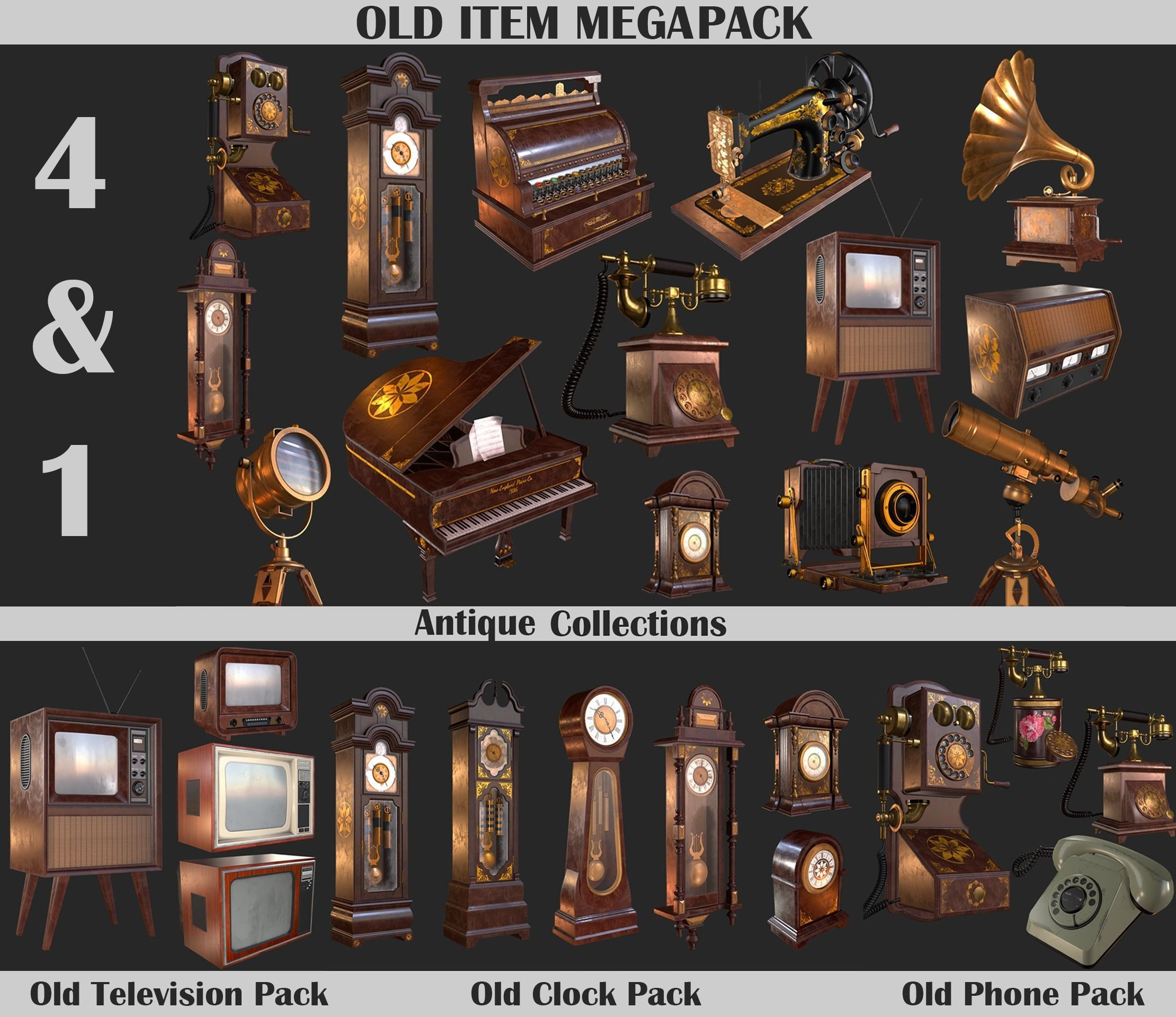 Old Item Mega Pack