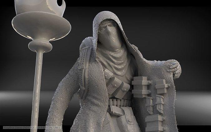 Resident Evil 4 Merchant 3d Print Model Cgtrader