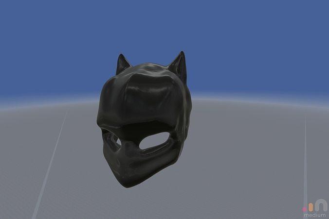 Batman Mask V3 | 3D model