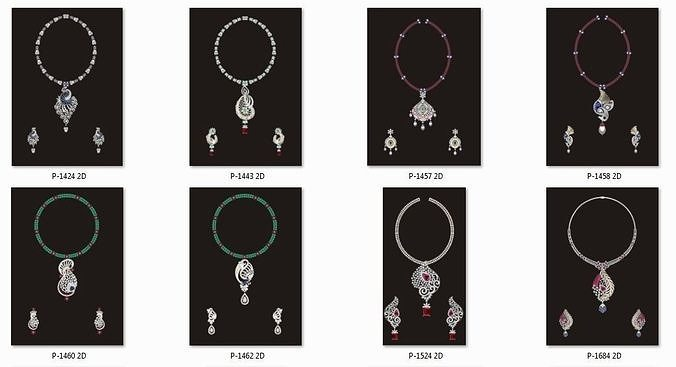 68 Necklace Earrings Set mgx bulk collection