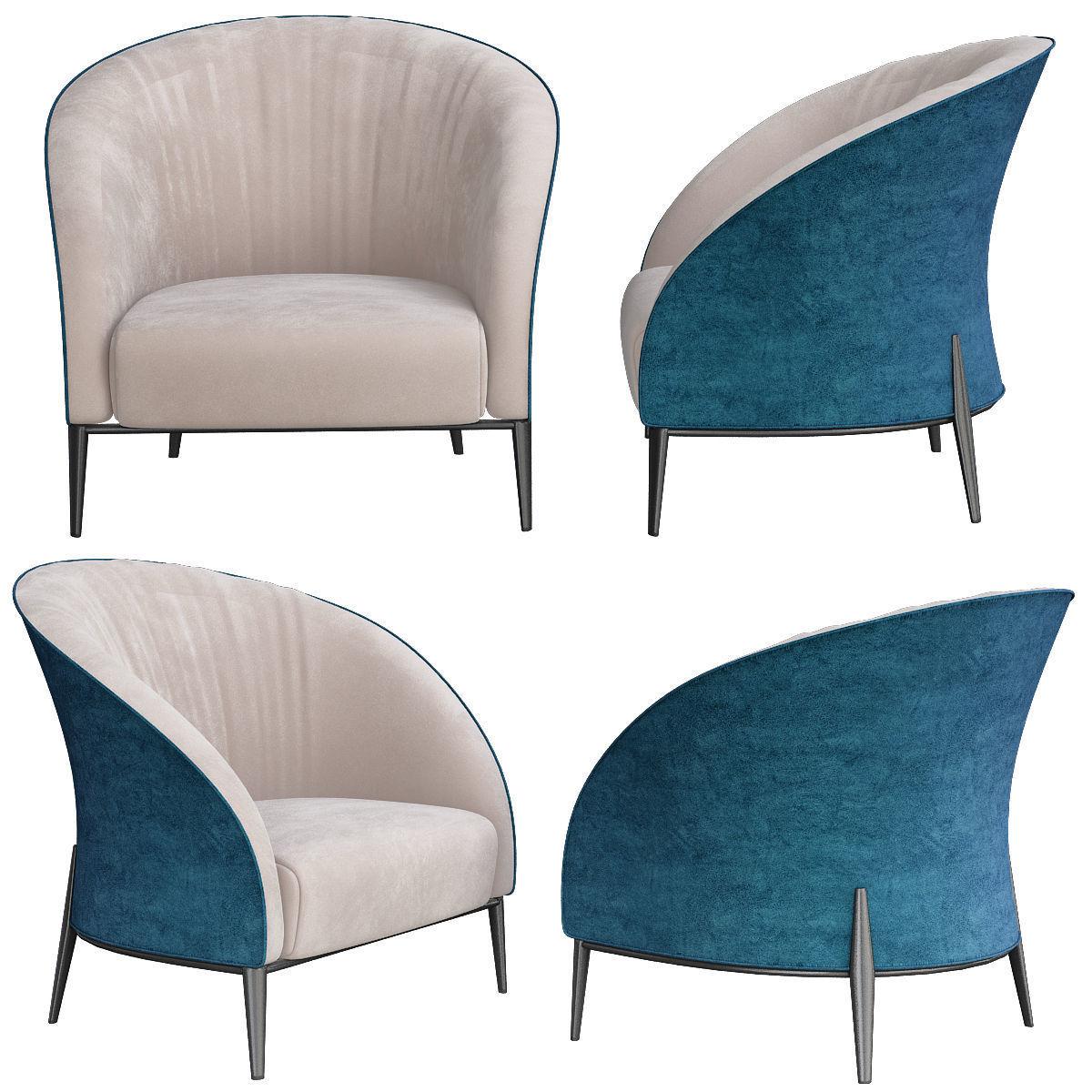 Kokoon Club Chair 3d Model Cgtrader