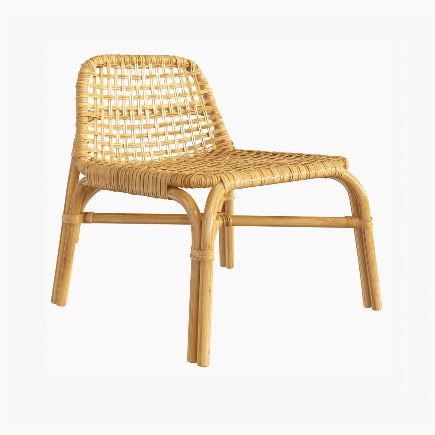 Awesome Ikea Tankvard Bamboo Rattan Chair 3D Model Gmtry Best Dining Table And Chair Ideas Images Gmtryco