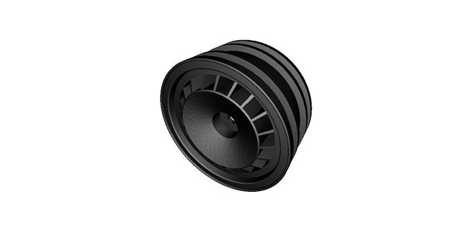 rc car drift wheel turbo   width 24mm   offset 0mm 3d model stl 1