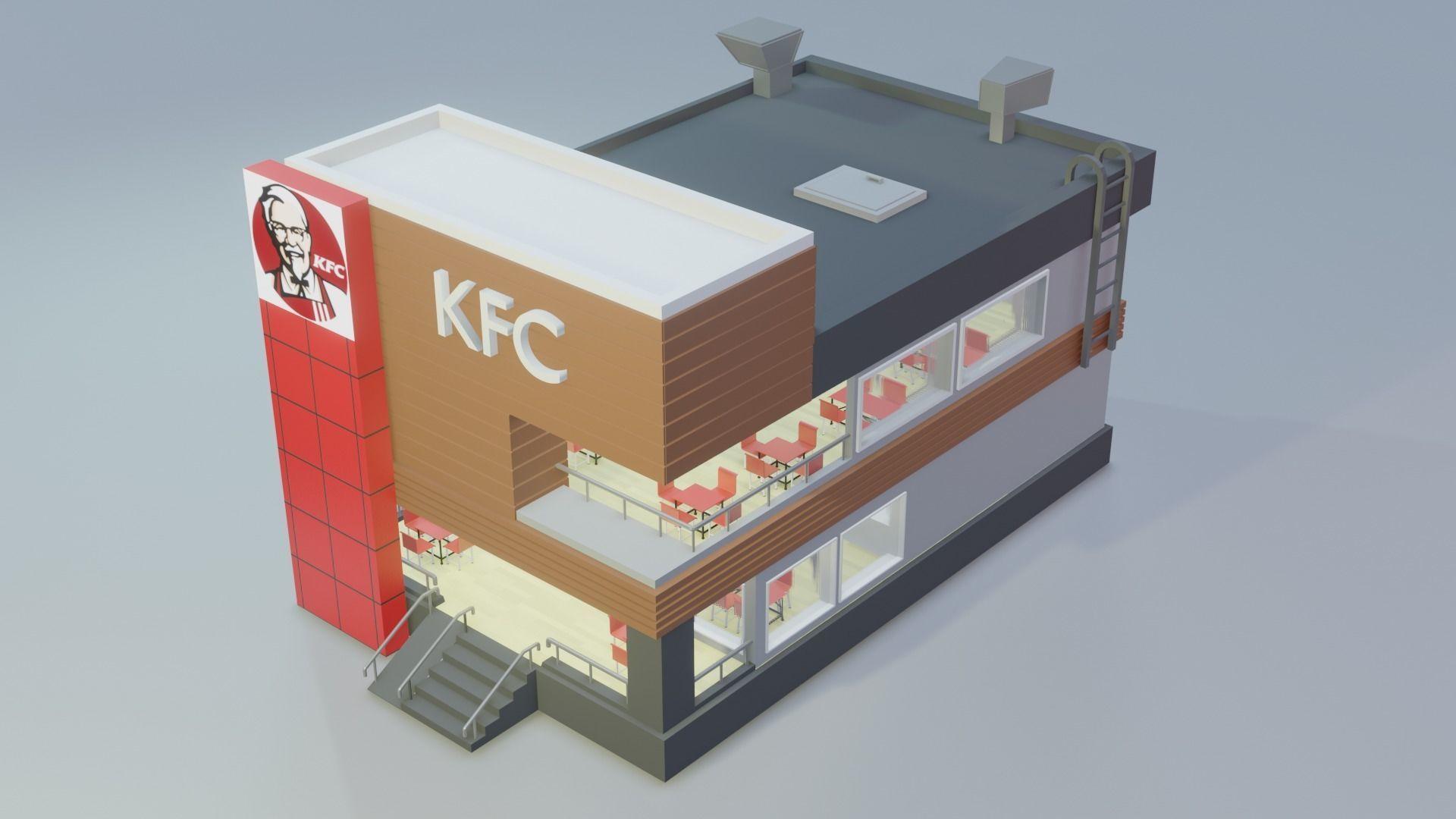 KFC - Low Poly
