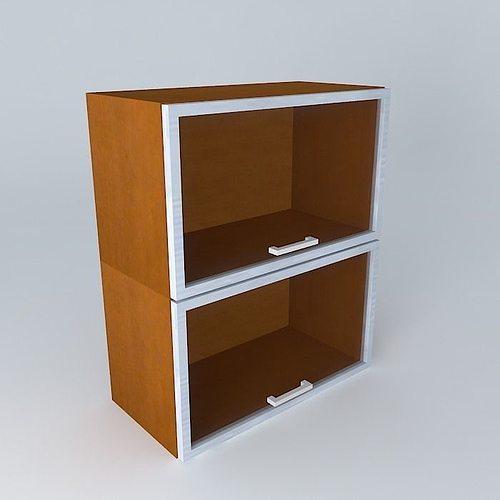 capital 34th avenue kitchen cabinet g2oo 60 72 2oova 3d model max obj mtl 3ds fbx stl skp 1