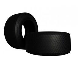 Indy Car Tire 3D model