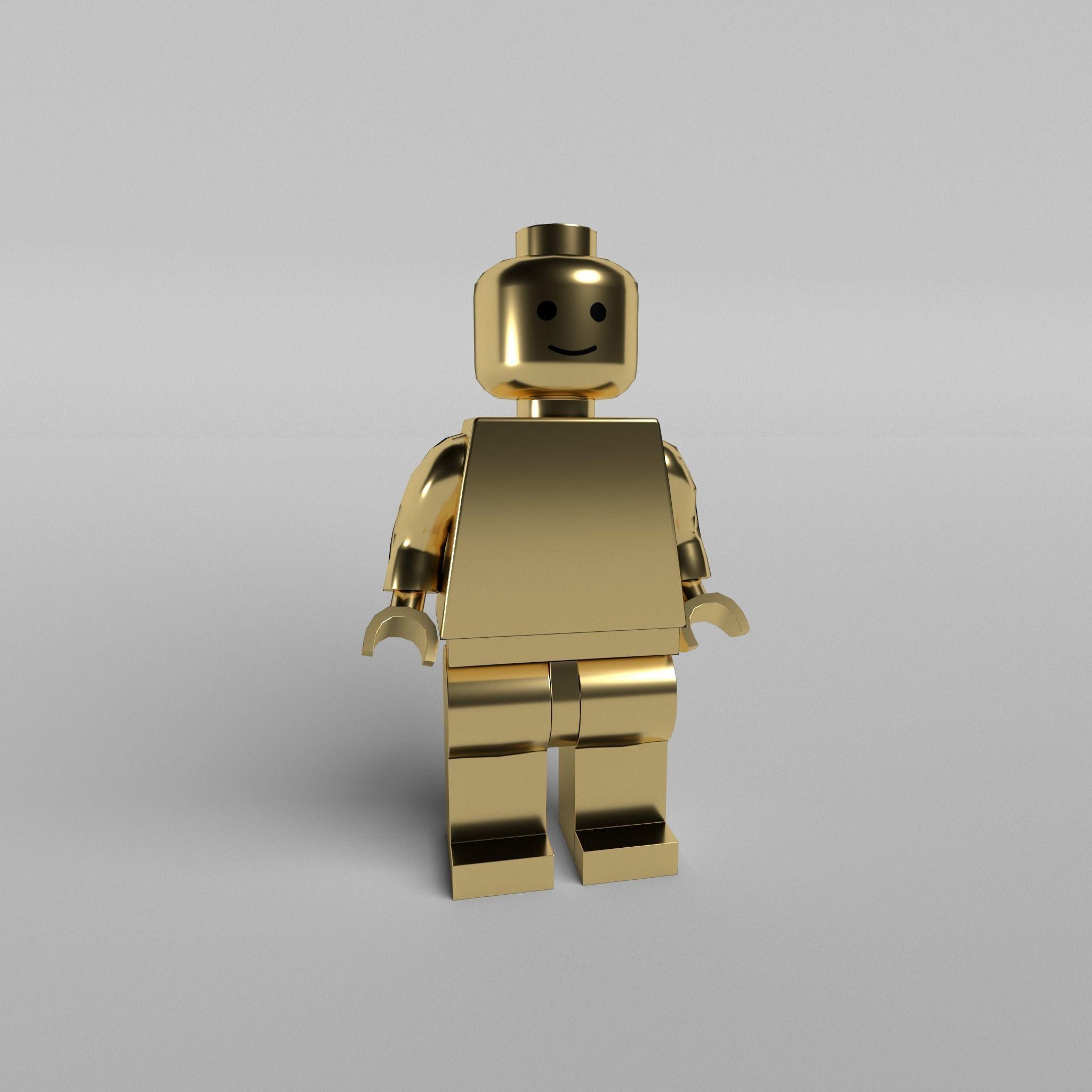 lego face base models poly low various obj cgtrader vr ar stl ma