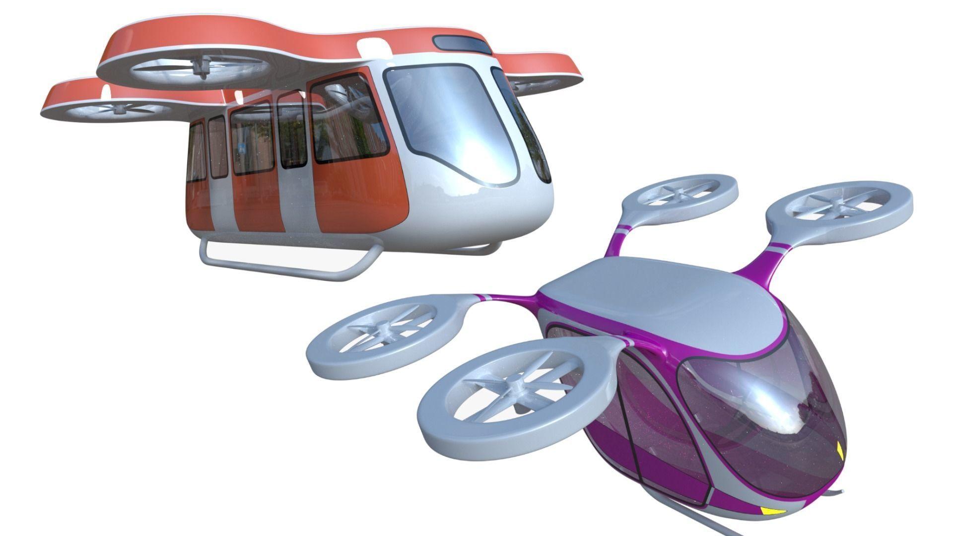 Passenger drones generic