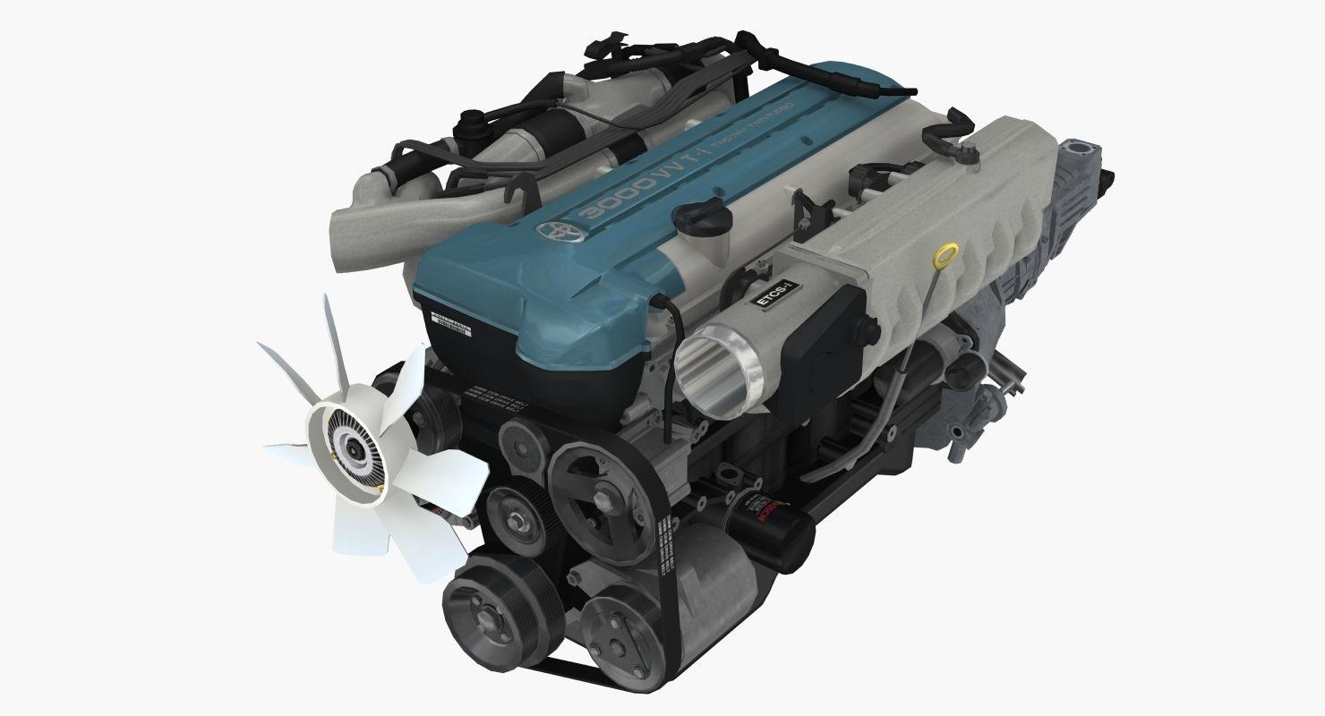 Toyota 2JZ GTE VVTi engine
