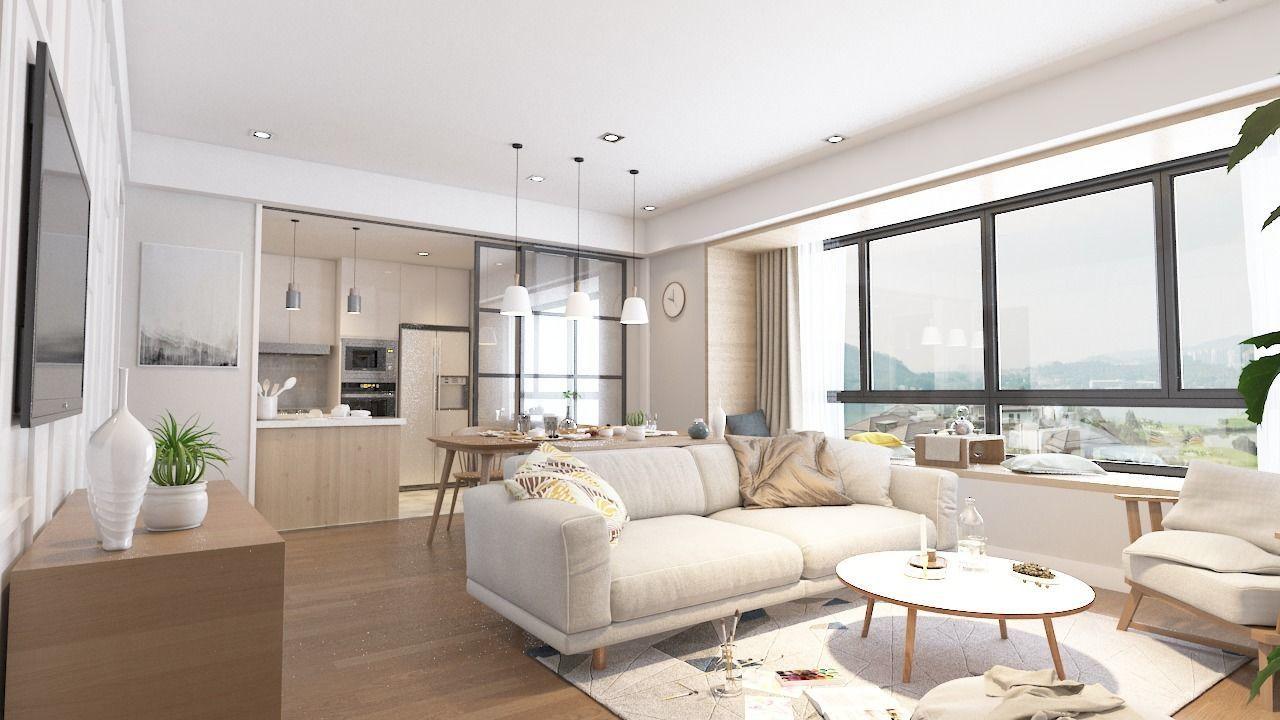 Modern Minimal House 3D Model