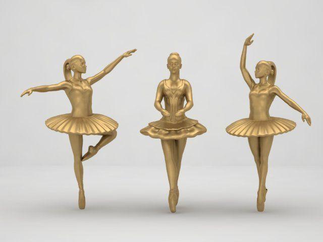 balerina pendant
