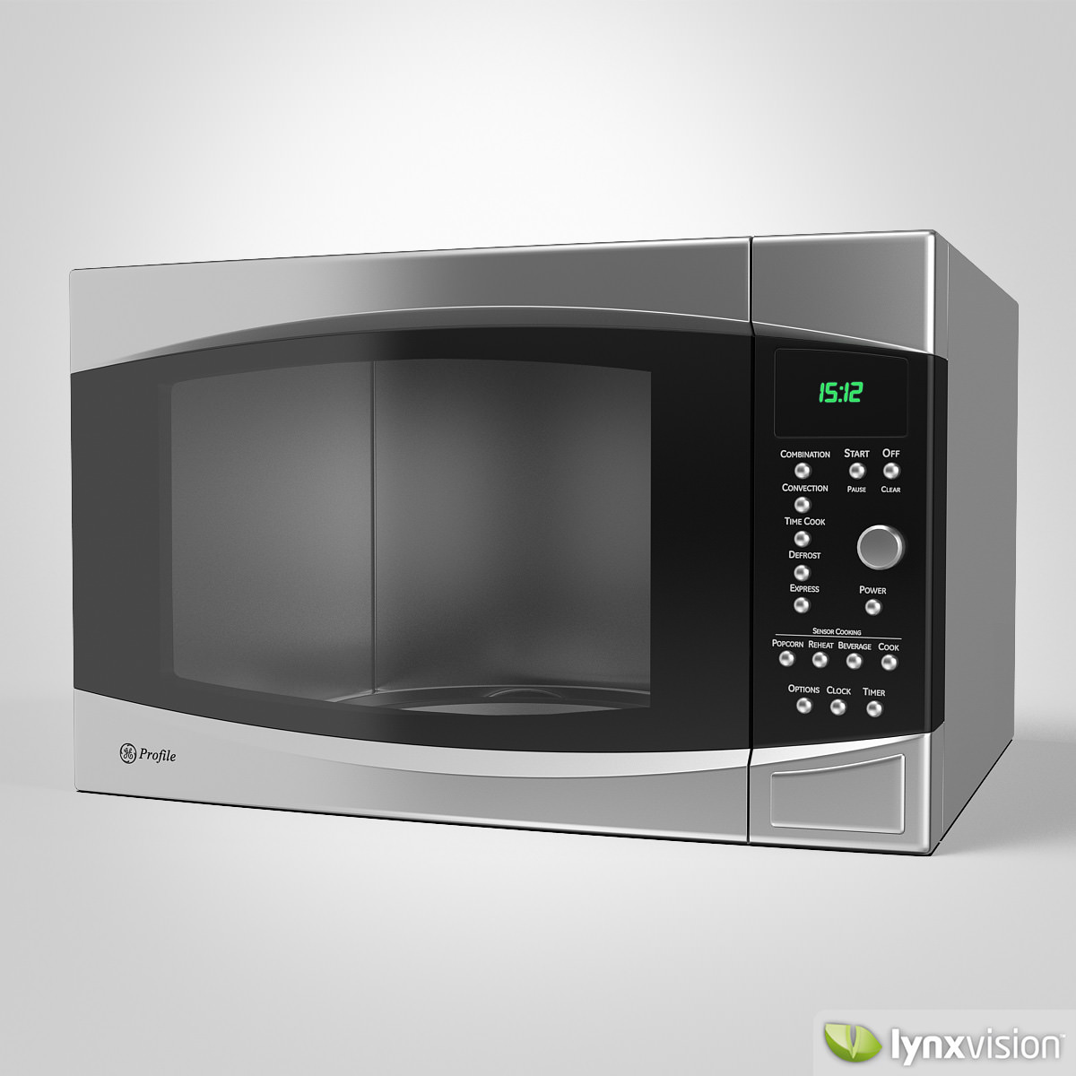 Ge Microwave Oven Model Max Obj Fbx Mtl 1