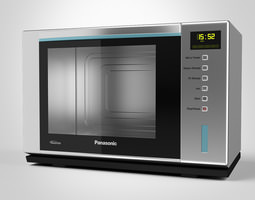 3D model Panasonic Microwave Steam Oven