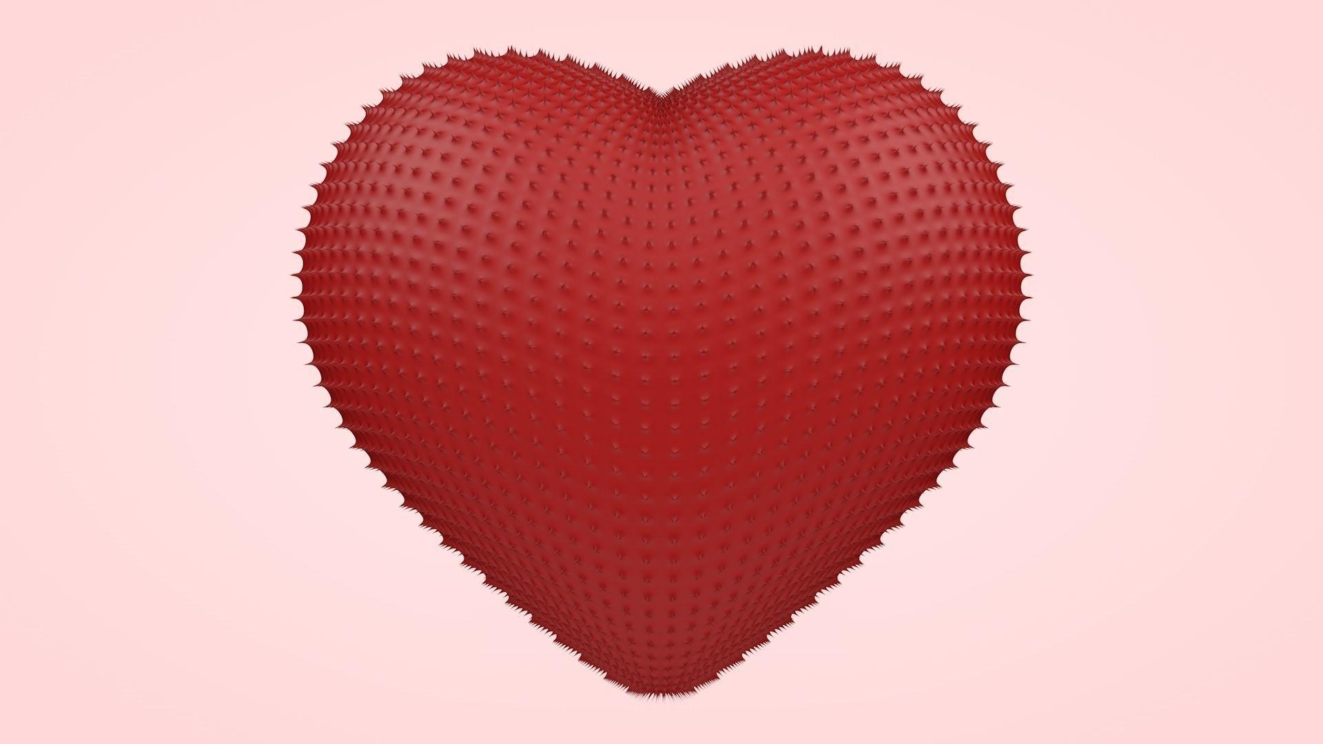 Heart of Thorns | 3D model