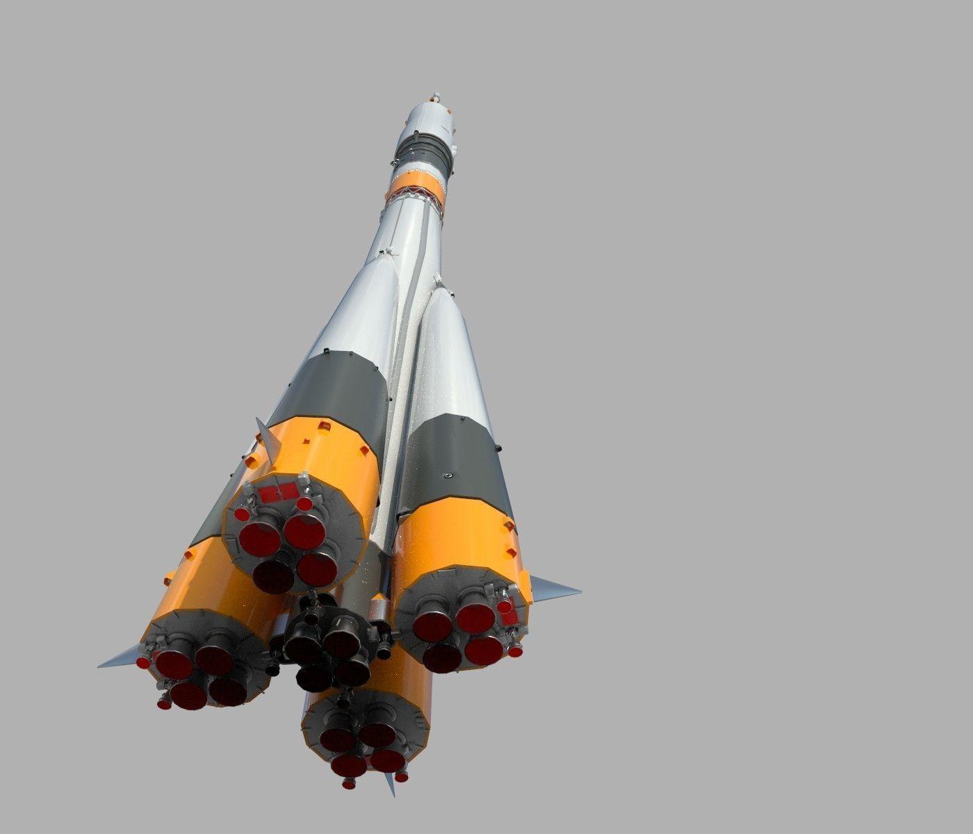 Baikonur rocket PBR
