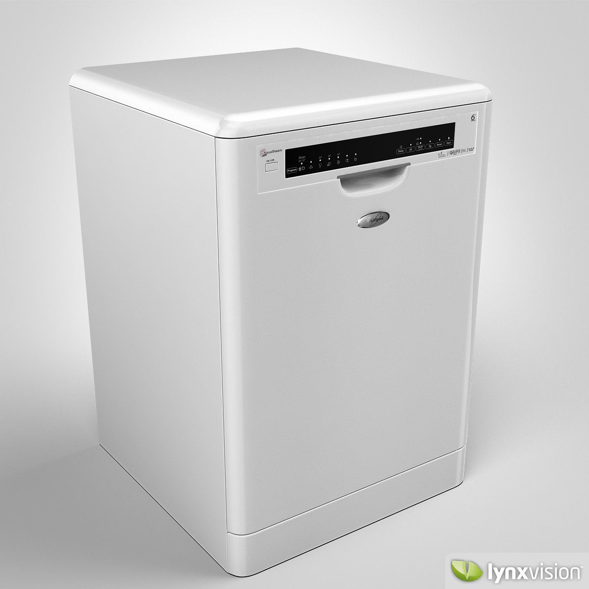 whirlpool dishwasher whirlpool dishwasher 3d model max obj fbx mtl 2
