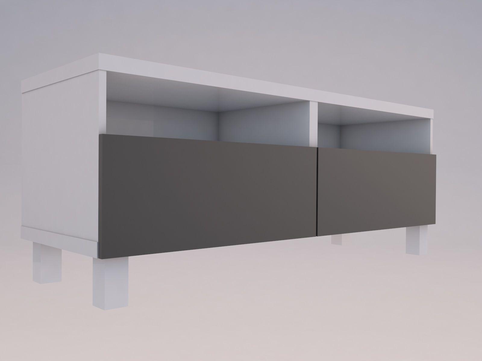 release date 14b24 062db Ikea BESTA TV shelf   3D model