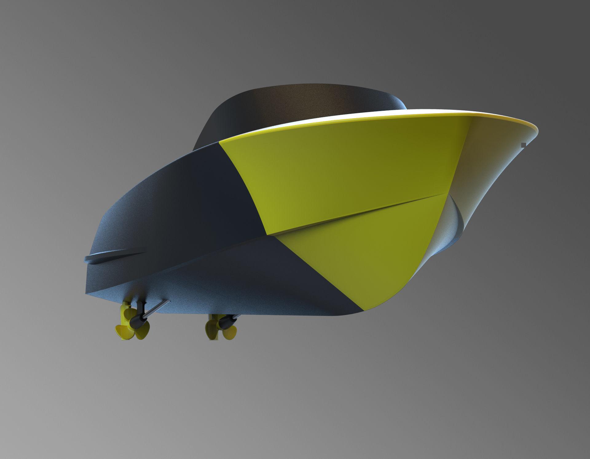 rc boat RIVA   3D Print Model