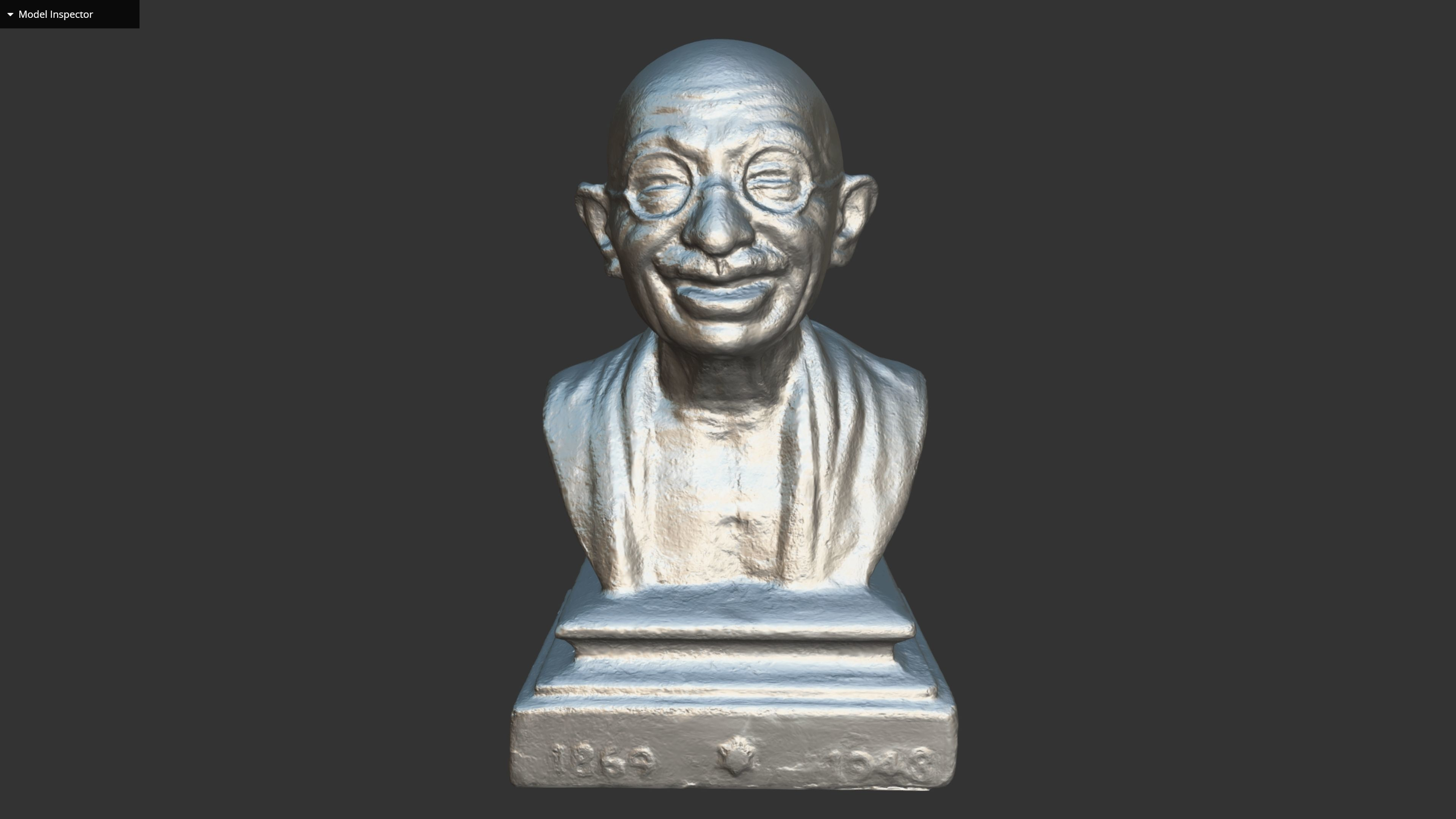Gandhi Miniature 3DP