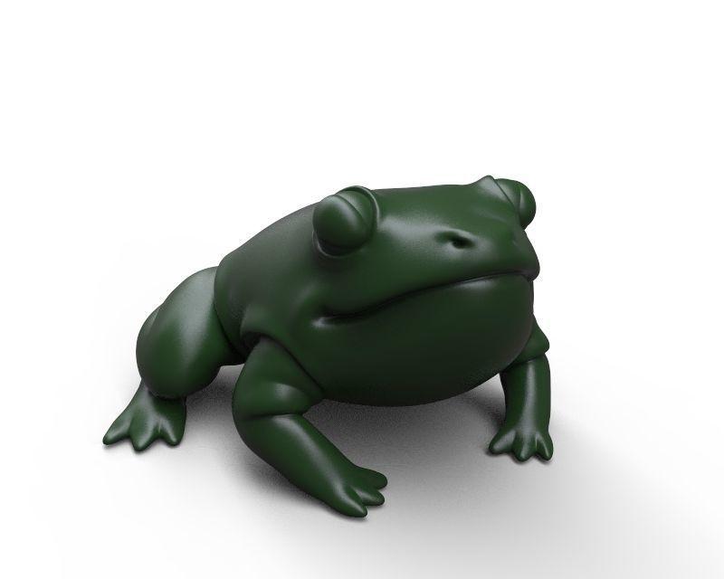 Confident fatty froggy
