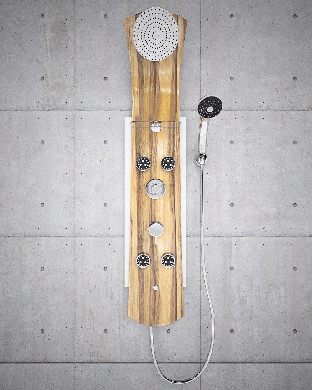 Shower panel Nautilus