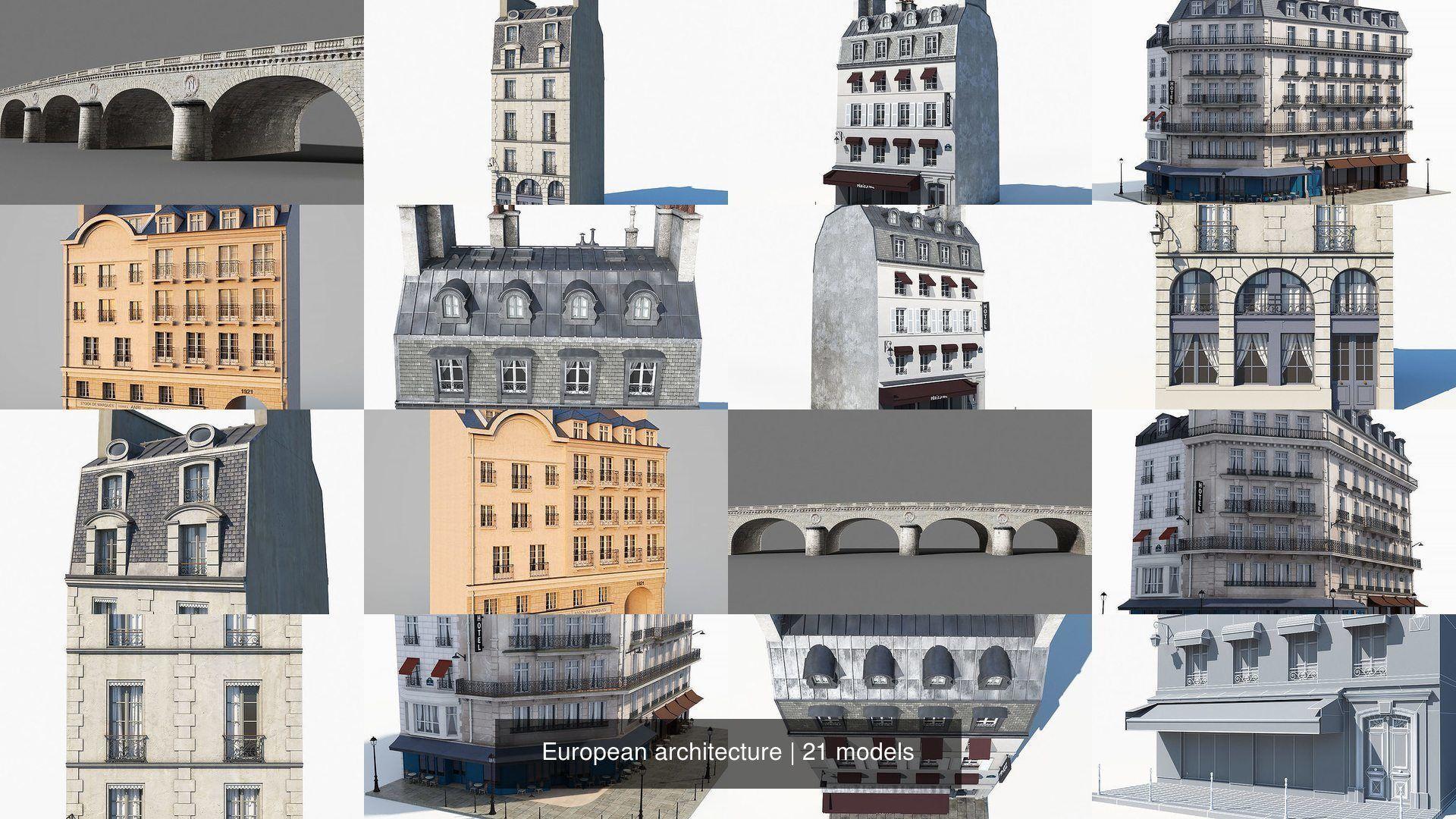 European architecture