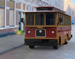 trolley 3d model obj