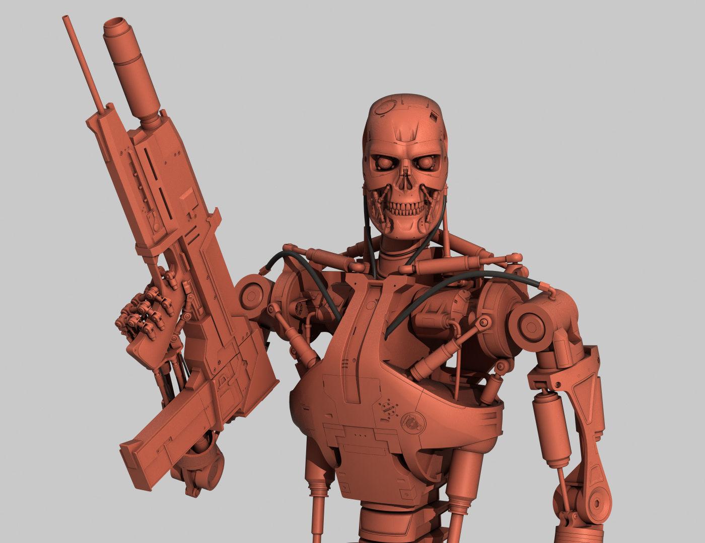 Terminator T-800 Endoskeleton for 3d printing