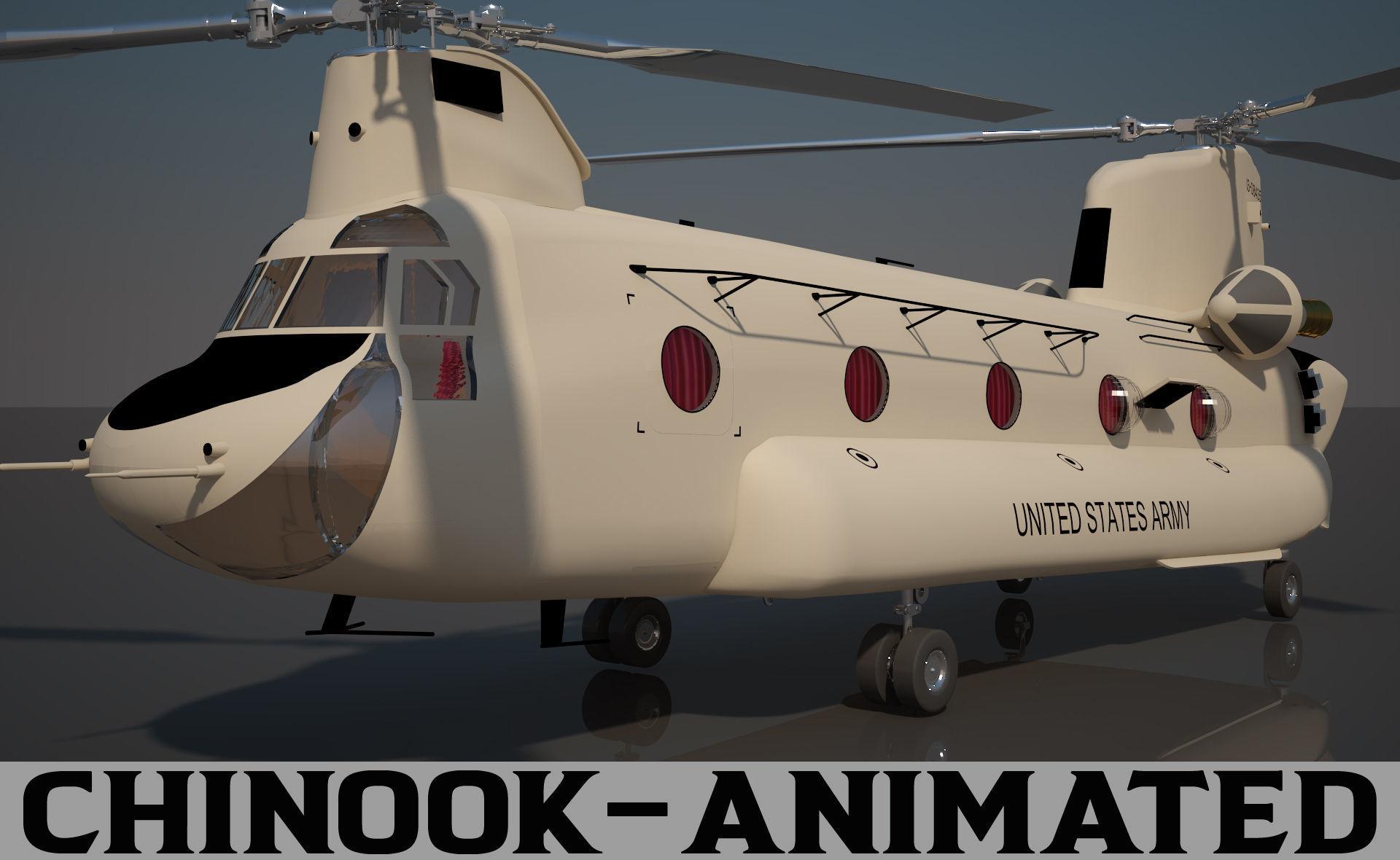 US Army Chinook CH 47 F