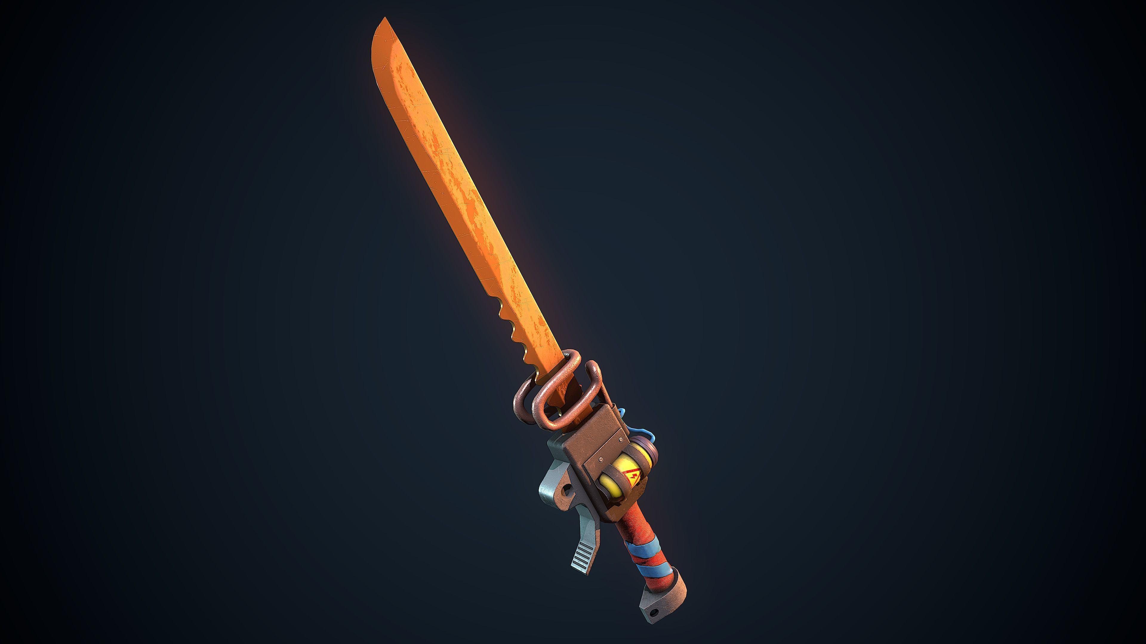 Molten Sword   3D model
