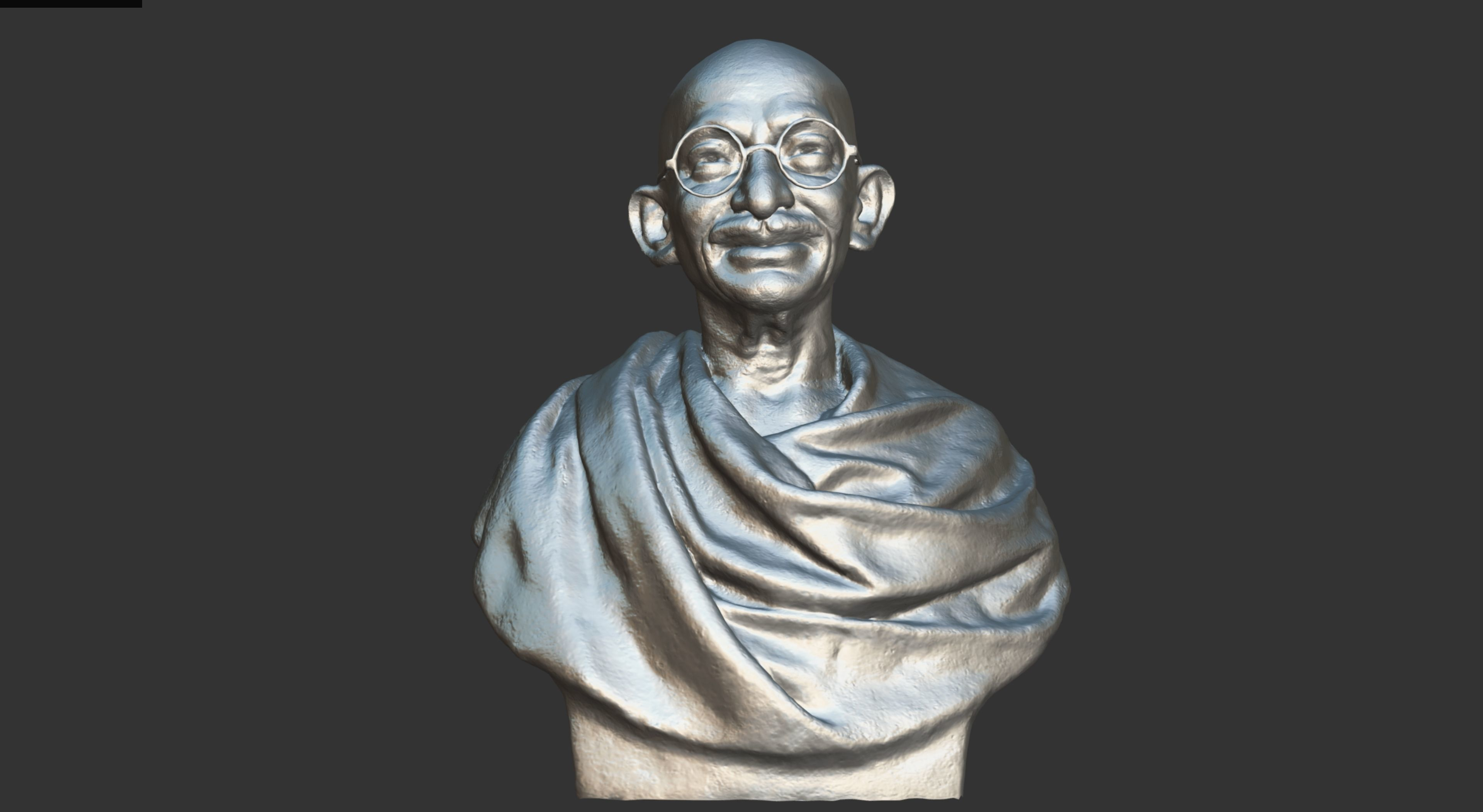 Gandhi by Wagh Sculptors 3DP