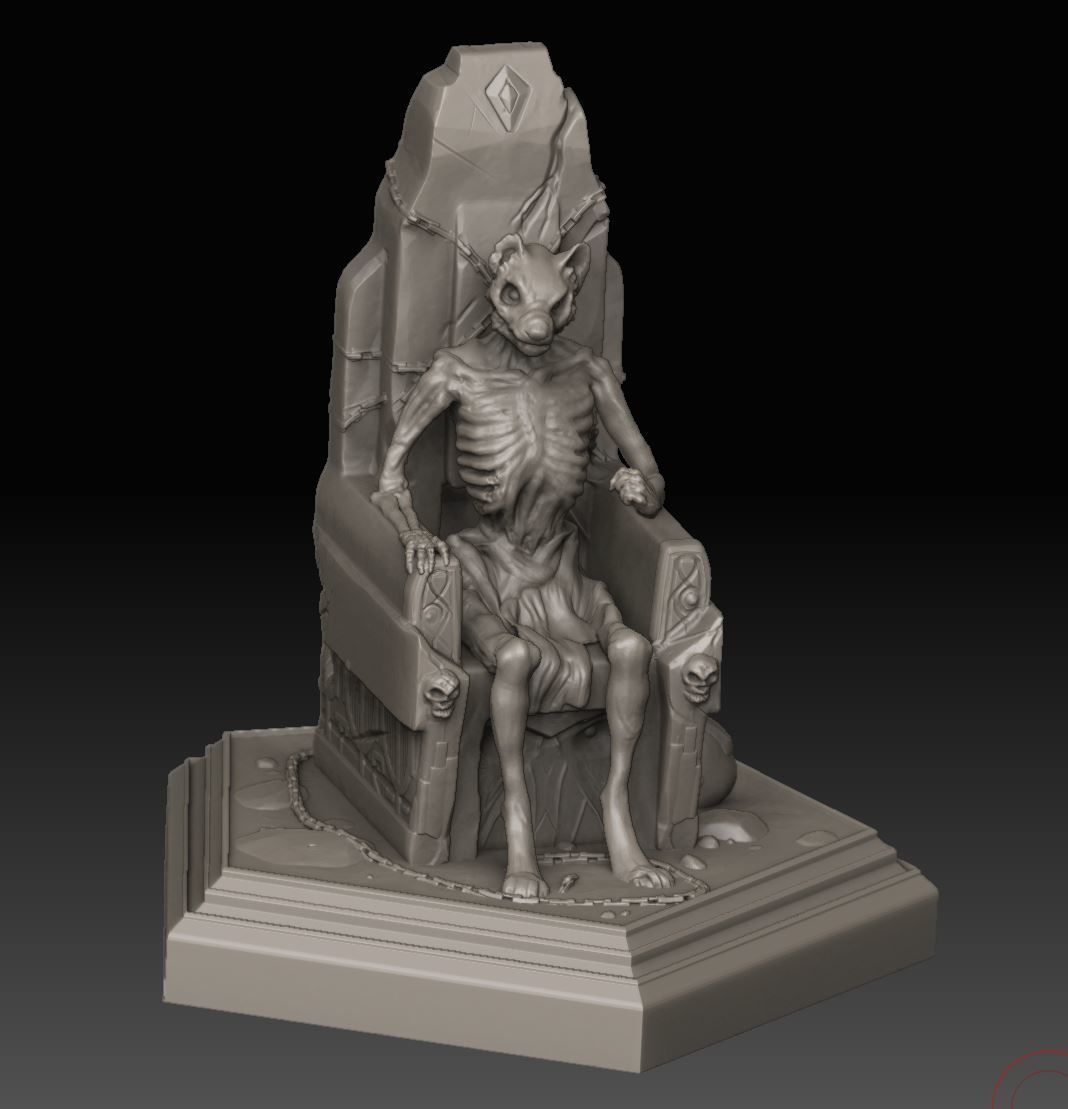 Wolfen Lich for 3D Print | 3D Print Model